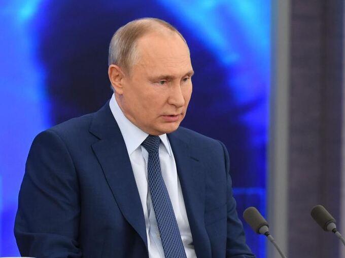 Putin: Berichte über Nawalny-Vergiftung nur