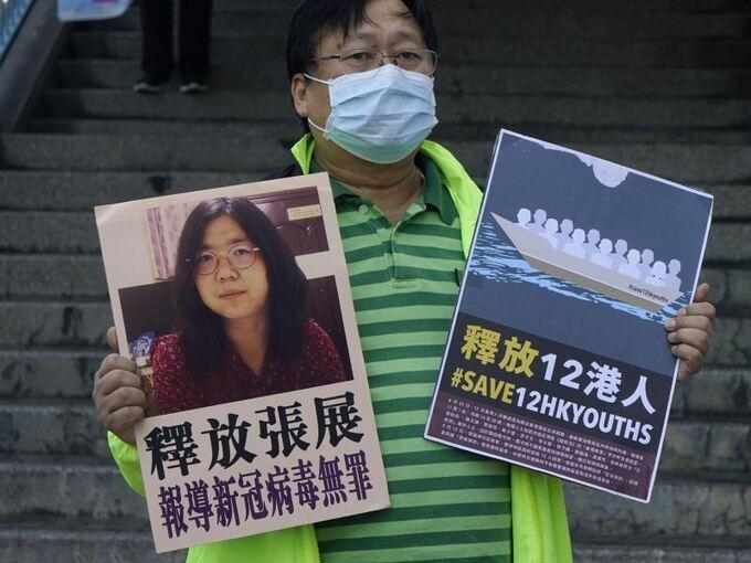 Corona-Berichterstattung - Chinesische Bloggerin verurteilt